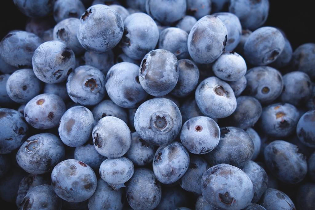 Ansiktsmask, finnar akne blåbär