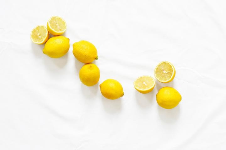 Ansiktsmask, oljig hy citron