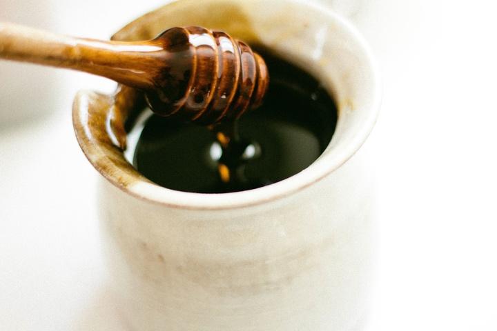 Ansiktsmask, oljig hy honung