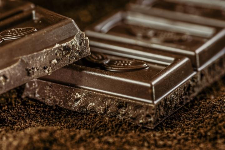 Ansiktsmask, rynkor mörk choklad