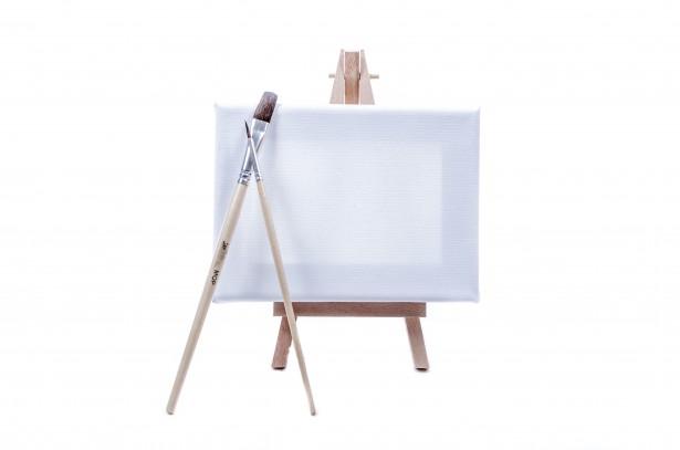 Måla, akrylfärg canvas