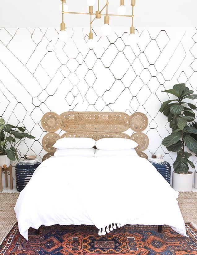 sänggavel i jute